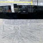 Toon Truyens, UR, 180 X 190 cm, collage op doek, 2008-2010, €6000,-