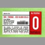 "dkf / thorax red blood cells 12"" vinyl"