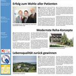 Gestaltung einer ganzseitigen Anzeige im Zeitungsformat.