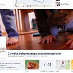 Gestaltung des Facebook-Auftritts von Zuwaka.