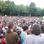 Wien - Lichterkette gegen Rechts - Harald Pomper alias STARA BAS