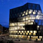 Universitätsbibliothek Freiburg   Degelo Architekten