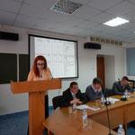 Выступление Юлии Дягилевой