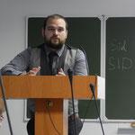 Выступление Алексея Ошонкова
