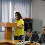 Выступление Екатерины Абрамовой