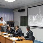 Выступление Алексея Бауэра