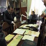 Экскурсия в Отдел редкой книги ТюмГУ