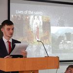Выступление Ильи Шабанова