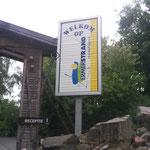 Eingang Ferienanlage