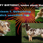"""Happy Birthday """"Schnecke"""" hab dich sooo lieb"""