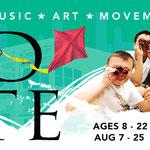 Red Kite Camp 2017 - Web graphic - (Chicago Children's Theatre)