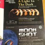 Light In The Dark + Moon Shot - Print Ad (Chicago Children's Theatre)