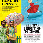 The Hundred Dresses + The Year I Didn't Go To School - Printed Ad for Chicago Magazine (Chicago Children's Theatre)