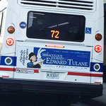 The Miraculous Journey of Edward Tulane - Bus Ad for CTA (Chicago Children's Theatre)