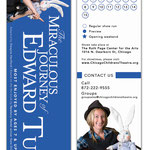 The Miraculous Journey of Edward Tulane - Bookmark design (Chicago Children's Theatre)