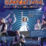 Wonderland, Alice's Rock and Roll Adventure - Printed Ad for Chicago Tribune (Chicago Children's Theatre)