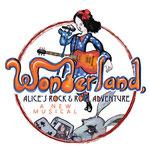 Wonderland, Alice's Rock and Roll Adventure - T-shirt graphic (Chicago Children's Theatre)