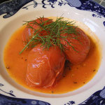 トマトのほろほろ肉詰め¥850