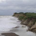 Stürmische Ostsee bei Schönhagen an der Steilküste