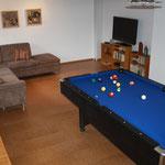 Billiard- Spielzimmer