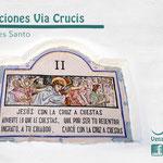 Estación 2 Via Crucis