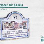 Estación 11 Via Crucis