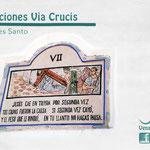 Estación 7 Via Crucis