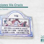 Estación 8 Via Crucis