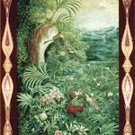 Paradiesvogelpärchen Aboda und Sanguinea