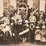 Les enfants lors de l'Inauguration