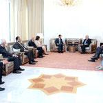 الرئيس الأسد يدعو الاتحاد الأوروبي إلى إطلاق مقاربات وسياسات جديدة تتناسب مع المتغيرات التي طرأت على المنطقة - 26.05.2010