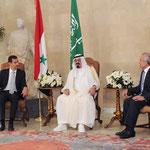 الرئيس الأسد يبدأ وخادم الحرمين الشريفين زيارة للبنان وقمة ثلاثة سورية سعودية لبنانية في بيروت - 30.07.2010