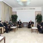 الرئيس الأسد يلتقي أعضاء مجلس نقابة المهندسين في سورية - 26.01.2010