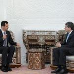 الرئيس الأسد يستقبل وزير خارجية النمسا - 20.02.2010