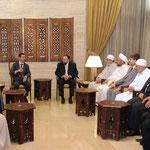 السيد الرئيس بشار الأسد يلتقي مديري الأوقاف في المحافظات - 04.07.2012