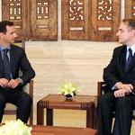 الرئيس الأسد يلتقي نائب رئيس الوزراء البولندي - 21.02.2011