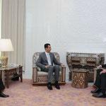 الرئيس الاسد يستقبل وليام بيرنز مساعد وزيرة الخارجية الامريكية للشؤون السياسية - 17.02.2010