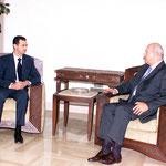 الرئيس الاسد يستقبل السيد ميشيل سماحة - 29.07.2003