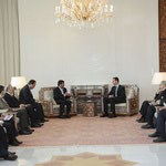 الرئيسان الأسد وأحمدي نجاد يعقدان جلسة مباحثات - 25.02.2010