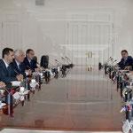 السيد الرئيس بشار الأسد والسيدة الأولى أسماء الأسد في زيارة رسمية إلى إسبانيا - 21.06.2004