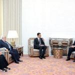 السيد الرئيس بشار الأسد يستقبل وزير الخارجية الإسباني ميغيل انخيل موراتينوس - 13.05.2010