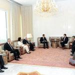 الرئيس الأسد يلتقي وزير خارجية بلغاريا . 29.07.2010