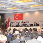 السيد الرئيس بشار الأسد والسيد عبد الله غل رئيس الجمهورية التركية يفتتحان ملتقى الأعمال السوري التركي - 16.05.2009