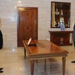 أمام السيد الرئيس بشار الأسد سليمان محمد الناصر يؤدي اليمين القانونية محافظا لمحافظة اللاذقية - 15.07.2012