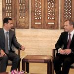 الرئيس الأسد يلتقي النائب الأول لرئيس الوزراء في جمهورية اوكرانيا - 17.02.2011