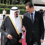الرئيس الأسد يقيم مراسم استقبال رسمية لخادم الحرمين الشريفين - 29.07.2010