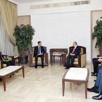 الرئيس الأسد يستقبل المكتب التنفيذي لاتحاد المهندسين العرب
