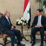الرئيس الأسد يلتقي رئيس مجلس النواب اللبناني في قصر بعبدا - 30.07.2010