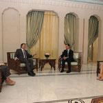 السيد الرئيس بشار الأسد والسيدة أسماء الأسد يستقبلان السيد عبد الله غل رئيس الجمهورية التركية والسيدة عقيلته - 16.05.2009