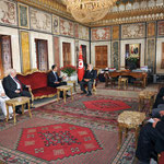 الرئيس الأسد يلتقي رئيس مجلس النواب التونسي وعددا من أعضائه - 13.07.2010